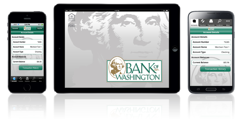 Bank of Washington Mobile Banking